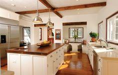 farmhouse kitchen in a Bermuda home, winner in The Bermudian's Building Design Awards