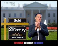 Who knew the White House was even on the market?  Oh yeah, that guy...