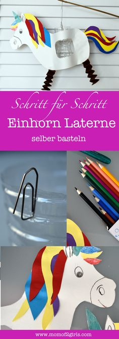 Make your own DIY lantern, make your own unicorn lantern with crafting instructions with freebie, Make Your Own, Make It Yourself, Chinese New Year, Jewelry Findings, Lanterns, Sunglasses Case, Unicorn, Holiday, Crafts