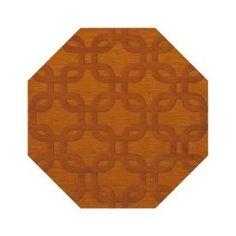 Dalyn Dover DV7 Orange Rug - $998.00 - 6' octagon