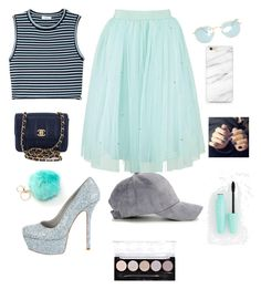 """""""Perfect"""" by melgcruz ❤ liked on Polyvore featuring A.L.C., Chanel, Ray-Ban, Alice + Olivia and L.A. Colors"""