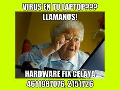 limpieza de virus en celaya