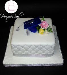 Ponqué/Torta de graduación Graduation cake