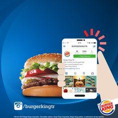 Instagram'da da lezzet seni çağırıyor Burger King'çi!  http://instagram.com/burgerkingtr