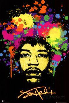 Jimi Hendrix - Bilder på AllPosters.se