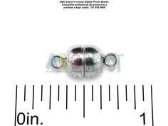 #Cerradura magnética de 11x6mm color #Plata. Bolsita con dos, Código: MCS116