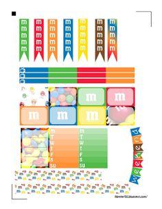 m & m planner stickers