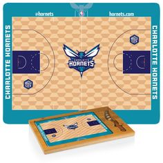 Charlotte Hornets 3-pc cheese cutting board