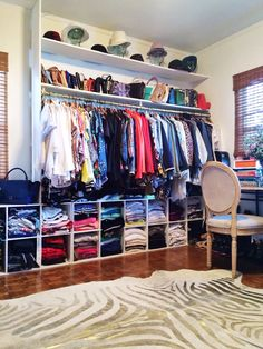 41 Clothes Rack Design Ideas That you Can Copy Right Now in your Home Spare Bedroom Closets, Dream Closets, Dream Rooms, Spare Room, Closet Remodel, Glam Room, Closet Designs, My New Room, Home Organization