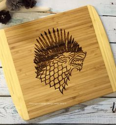 Game of Thrones Inspired Cutting Board (AS SHOWN)