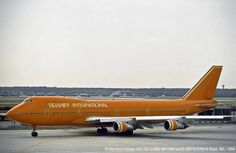 """Braniff N611BN 747-200 leased from Lufthansa. This plane earned the nickname """"Hitler's Revenge"""" by Braniff employees since it was prone to mechanicals."""