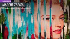 Pintura. Fragmentos de MARCHE ZAPATA Leer más: http://www.colectivobicicleta.com/2015/07/pintura-de-Marche-Zapata.html