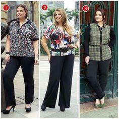 calças plus size