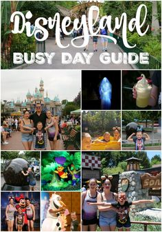 Disneyland Busy Day
