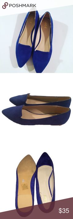 Diba royal blue loafer flats Excellent gently used condition pointy toe  flats from Diba. Most wear is on the sole. Size 9. Diba Shoes Flats & Loafers