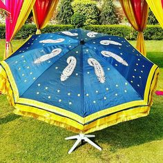 Wedding Umbrellas #fancyumbrellas #gardenumbrellas #weddingideas #weddingumbrellas #partyumbrellas and #decoratedumbrellas by www.indiantents.com For more #umbrellas and #tents follow us @indiantents