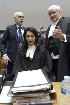 Amal Clooney represents Armenia in European Court of Human Rights. Armenia challenges ECHR appeal of Turkish politician Doğu Perinçek. Perinçek found guilty in 2008 of denying the 1915 Armenian genocide. The 1915 genocide saw 1.5m Armenians slaughtered by Ottoman Turks.