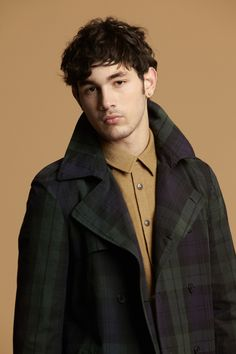 I really like the plaid. - Opening Ceremony Fall/Winter 2012
