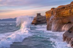 Sunset Wave by Jeff Hobson on 500px