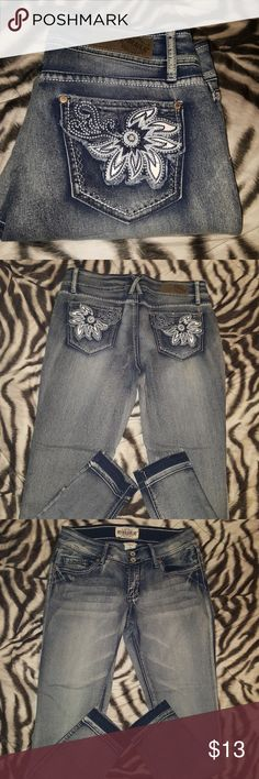 """Hydraulic  Skinny Jeans Very good Condition Released Hem Ankle Skinny Inseam 27 1/2"""" Hydraulic Jeans Skinny"""