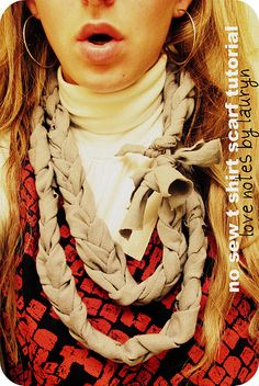 No Sew Head Scarf | Beauty: Hair | Pinterest | No Sew, Scarf Tutorial ...