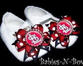 St. Louis Cardinals Baby Shoes