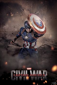 Captain America: Civil War Custom Posters for Inspiration