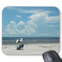 Day at the Beach Florida, USA Mouse Pad
