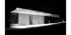 Christian LARROQUE Architectes ASSOCIES  Club House - Gradignan Extension Gymnase Architecture, Garage Doors, Christian, Club, Outdoor Decor, House, Home Decor, Senior Living Homes, Gym
