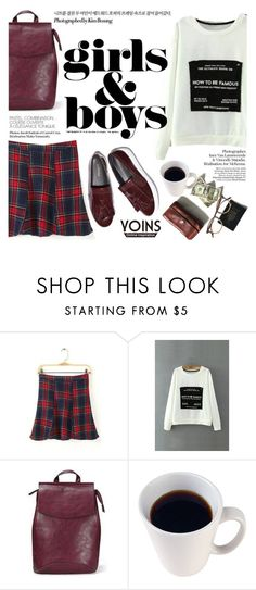 """Girls&boys"" by punnky ❤ liked on Polyvore featuring Garrett Leight and yoinscollection"