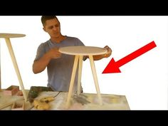 how to put a stick Diy Room Decor Videos, Baby Blocks, Clean House, The Creator, Make It Yourself, Creative, Party, Stool, Crafts