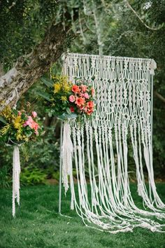 macrame hanging wedding - Google Search