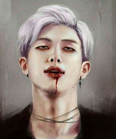 Image de rap monster, fanart, and bts