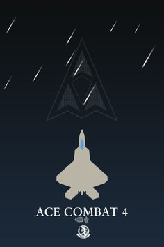 Ace Combat 4 minimalist poster by anarchemitis