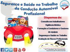 Campanha de segurança e saúde  no Trabalho para a Condução Automóvel Profissional