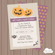Convite Halloween - Dia das Bruxas para Imprimir