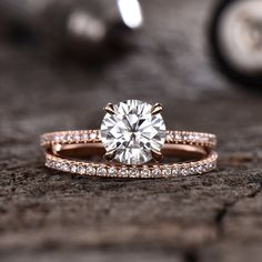 Floral Engagement Ring Unique Bridal Set Blue Topaz Engagement Ring – Fine Jewelry Ideas Forever One Moissanite Engagement Ring Diamond Basket Half Eternity Wedding Band Bridal Set Round Solitaire Ring Rose Gold D-E-F – BBBGEM Wedding Rings Rose Gold, Bridal Rings, Wedding Bands, Rose Gold Diamond Ring, Rose Gold Rings, Wedding Jewelry, Wedding White, Wedding Earrings, Dream Wedding
