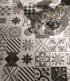 Ceramic materials wall/floor tiles CEMENTINE - @valmoriceramica