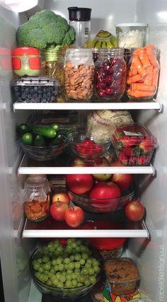 Clean Eating and Vegan Healthy Fridge, Healthy Meal Prep, Healthy Life, Healthy Snacks, Healthy Eating, Easy Snacks, Good Food, Yummy Food, Tasty