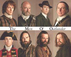 ~ The Men of #Outlander ~