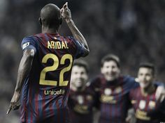 Abidal survived cancer. Twice.