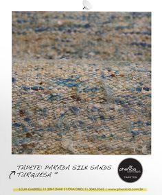 Phenicia Concept - Tapete: Parada Silk Sands Turquesa