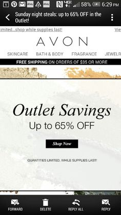 AVON Clearance  https://youravon.com/kim_blake