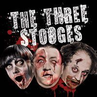 """""""The Three Stooges"""" as Zombies."""