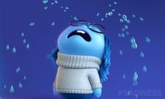 Trending GIF reaction mrw sad disney crying upset tears pixar sadness triste inside out sobbing sob grief حزين เศรา koreantagsad i feel sick tristi Funny Videos, Funny Gifs, Disney Pixar, Sad Disney, Disney Test, Sadness Inside Out, Inside Out Characters, Disney Characters, Crying Gif