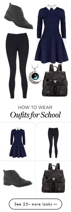 """""""Merida school outfit"""" by ava3309 on Polyvore featuring Alice + Olivia, Sweaty Betty, Proenza Schouler and Blowfish"""