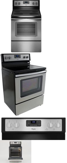 Ranges and Stoves 71250: Wfe515s0es Whirlpool 30 Selfcleaning Freestanding Electric Range Stainless Steel -> BUY IT NOW ONLY: $499.99 on eBay!