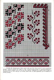 Culegere de cusături populare de Leogadia Ștefănucă Cross Stitch Flowers, Embroidery, Rugs, How To Make, Crafts, Decor, Fashion, Folklore, Farmhouse Rugs