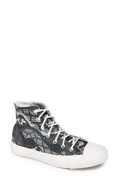 Converse+Chuck+Taylor®+'Reptile+Print'+High+Top+Sneaker+(Women)+available+at+#Nordstrom