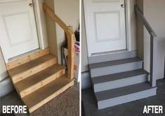 Garage Stairs With Landing Google Search Garage Ideas